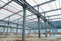 Prefabricated Steel Structure Building For Big Workshops And Warehouses