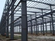 Heavy Duty Q345B H Beams Fabricated Steel Structure For Workshop